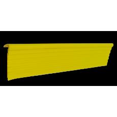 Профиль угловой противоскользящий самоклеящийся для ступеней.