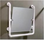Зеркало с поручнем M-FS8039, алюминий