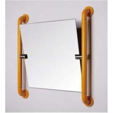 Зеркало с поручнем M-FS8040, алюминий