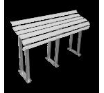 Пластиковая скамья для инвалидов