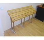Деревянная скамья для инвалидов